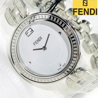 フェンディ(FENDI)の【新商品】定価11,5万 FENDIフェンディ 女性レディース時計 新品シルバー(腕時計)