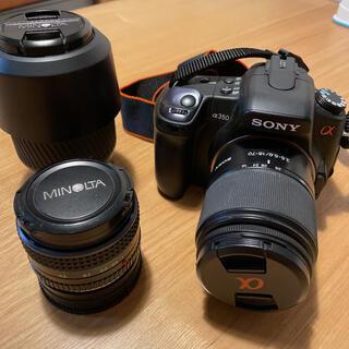 SONY - ☆美品☆ 一眼レフ カメラ SONY α350
