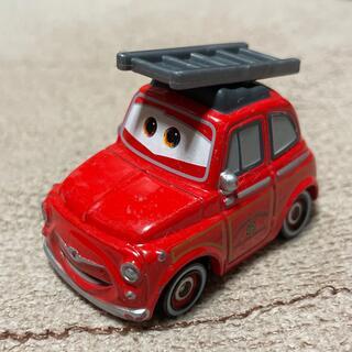 トミー(TOMMY)のTOMICA トミカ  カーズ ルイージ 消防車タイプ USED 送無 4-1(ミニカー)