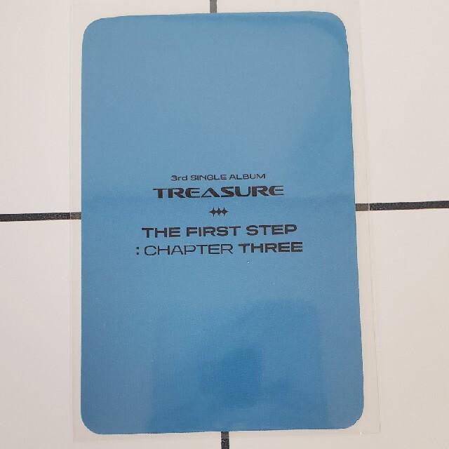 TREASURE マシホ THE FIRST STEP Qoo10特典トレカ エンタメ/ホビーのCD(K-POP/アジア)の商品写真