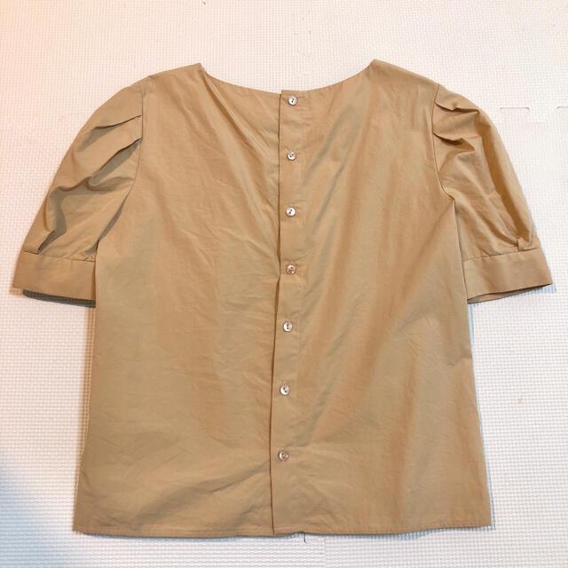 NATURAL BEAUTY BASIC(ナチュラルビューティーベーシック)のジゴスリーブブラウス ナチュラルビューティーベーシック レディースのトップス(カットソー(半袖/袖なし))の商品写真