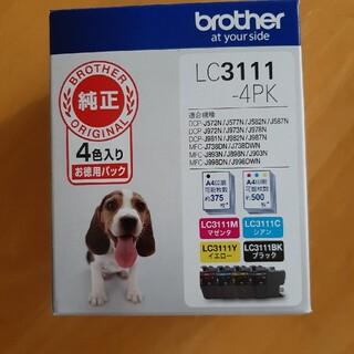 brother 純正 インクカートリッジ 4色パック LC3111-4PK