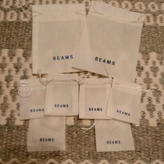 ビームス(BEAMS)のBEAMSビームス不織布巾着(ショップ袋)
