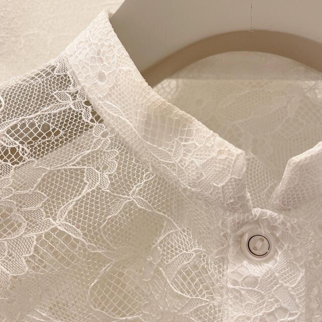 Lily Brown(リリーブラウン)のlilybrown  袖フレアレーストップス レディースのトップス(シャツ/ブラウス(半袖/袖なし))の商品写真