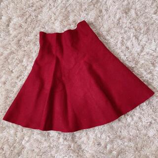 ロジータ(ROJITA)の今週限定 red skirt(ミニスカート)