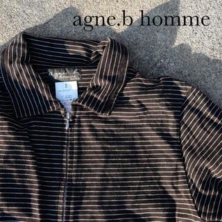 アニエスベー(agnes b.)のagne.b アニエスベー paris homme ririジップカットソー (Tシャツ/カットソー(半袖/袖なし))