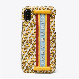 トリーバーチ(Tory Burch)の【ショップ袋付き】新品未使用 トリーバーチ iPhoneX/XSケース(iPhoneケース)