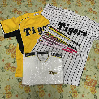 ミズノ(MIZUNO)の阪神タイガースオフシャルファンクラブユニフォーム 応援バット(応援グッズ)