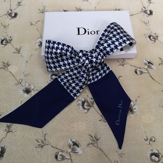Dior - ディオール スカーフ ネイビー