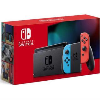 Nintendo Switch - 任天堂 スイッチ 新品未使用 ネオンレッド ネオンブルー