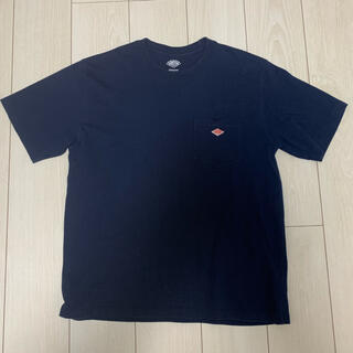 DANTON - DANTON ダントン Tシャツ 半袖 紺色 42