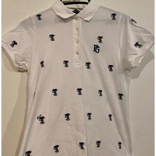 パーリーゲイツ(PEARLY GATES)のパーリーゲイツ ポロシャツ  白 スヌーピー(ポロシャツ)