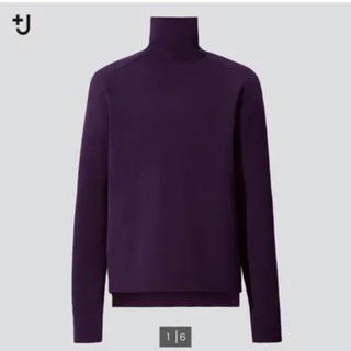 UNIQLO - UNIQLO +J メリノブレンドタートルネックセーター