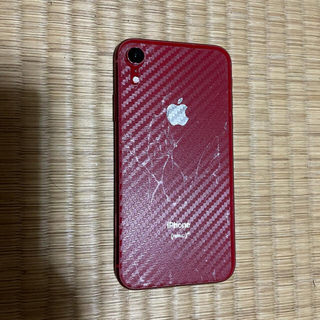 iPhone - iPhone XR レッド ジャンク