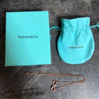 ティファニー(Tiffany & Co.)のTIFFANY&CO ティファニー インフィニティ ローズゴールド(ネックレス)