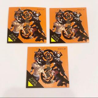 ユーハミカクトウ(UHA味覚糖)の送料無料!呪術廻戦高濃度ビタミンCのど飴シール 未開封3枚セット(キャラクターグッズ)