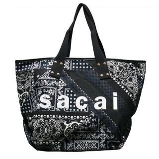 sacai - sacai 21SS Archive Print Mix Tote バッグ