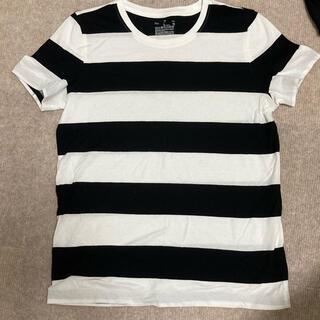 ムジルシリョウヒン(MUJI (無印良品))のボーダー Tシャツ(Tシャツ(半袖/袖なし))
