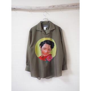 """Yohji Yamamoto - 【Yohji Yamamoto】""""杖村さえ子"""" Archive Shirt"""
