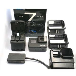 GoPro - 【モトブログセット】GoPro Hero 7 BLACK マイクアダプター付き