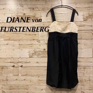 ダイアンフォンファステンバーグ(DIANE von FURSTENBERG)の新品タグ付き  シルク素材 DIANEvonFURSTENBERG ワンピース(ミニワンピース)
