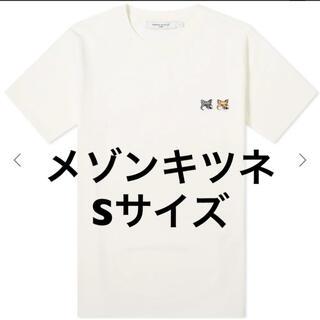 MAISON KITSUNE' - Maison Kitsune メゾンキツネ ダブルフォックスTシャツ