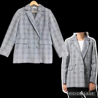 アクシーズファム(axes femme)の61.ダブルボタンビッグジャケット(テーラードジャケット)