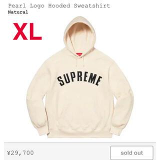 Supreme - Supreme Pearl Logo Hooded Sweatshirt  XL