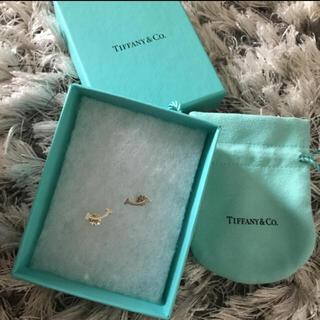 ティファニー(Tiffany & Co.)のティファニー  Tスマイル ピアス シルバー(ピアス)