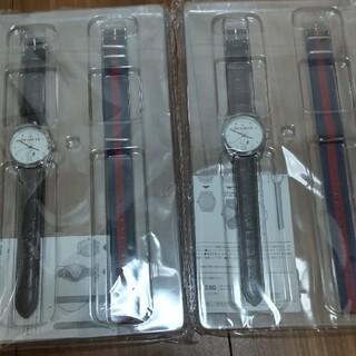 スヌーピー(SNOOPY)のSPRING 付録 腕時計 スヌーピー 2個セット(腕時計)