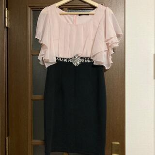 デイジーストア(dazzy store)のドレス/ワンピース(ピンク×黒)(ミディアムドレス)