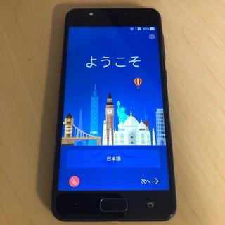 エイスース(ASUS)のASUS ZA550KL(ASUS_X00RD) SIMフリー 美品(スマートフォン本体)