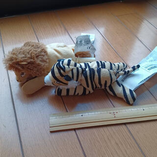 イケア(IKEA)のIKEA ソフトトイ DJUNGELSKOG ぬいぐるみ ライオン トラ(ぬいぐるみ)