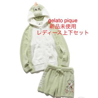 gelato pique - gelato pique ジェラートピケ ヨッシーパーカ&ショートパンツ