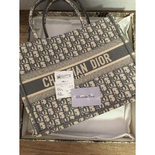 クリスチャンディオール(Christian Dior)の美品 クリスチャンディオール ブックトートバック(トートバッグ)