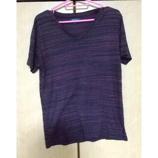 Tシャツ 臙脂色