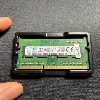 サムスン(SAMSUNG)のDDR3-1600(PC3-12800) 4GB(PC周辺機器)