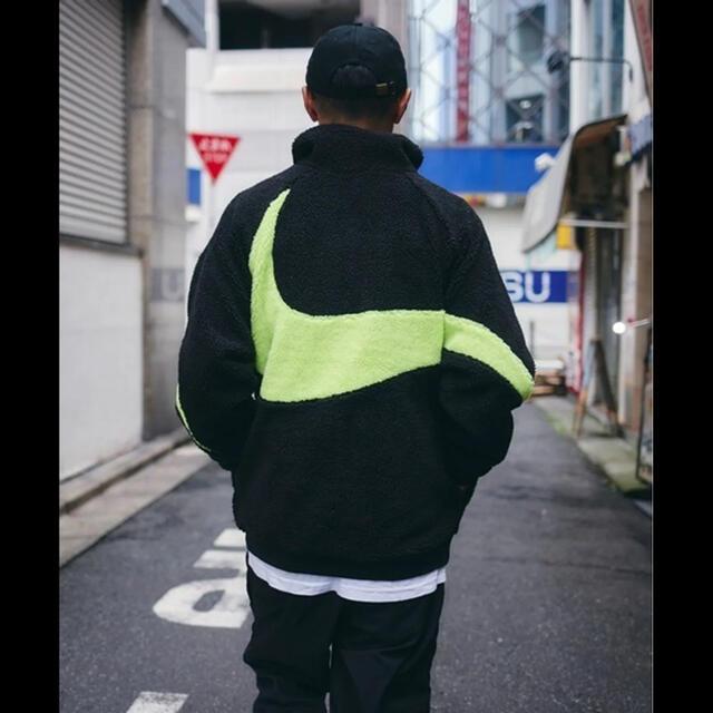 NIKE(ナイキ)のNIKE リバーシブル ビッグスウォッシュ ボア ナイロン ジャケット 3XL メンズのジャケット/アウター(その他)の商品写真