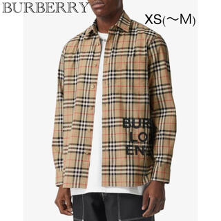 BURBERRY - BURBERRY オーバーサイズシャツ