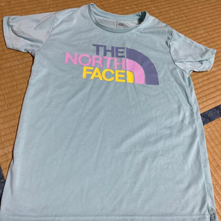 THE NORTH FACE - ノースフェイスTシャツ水色