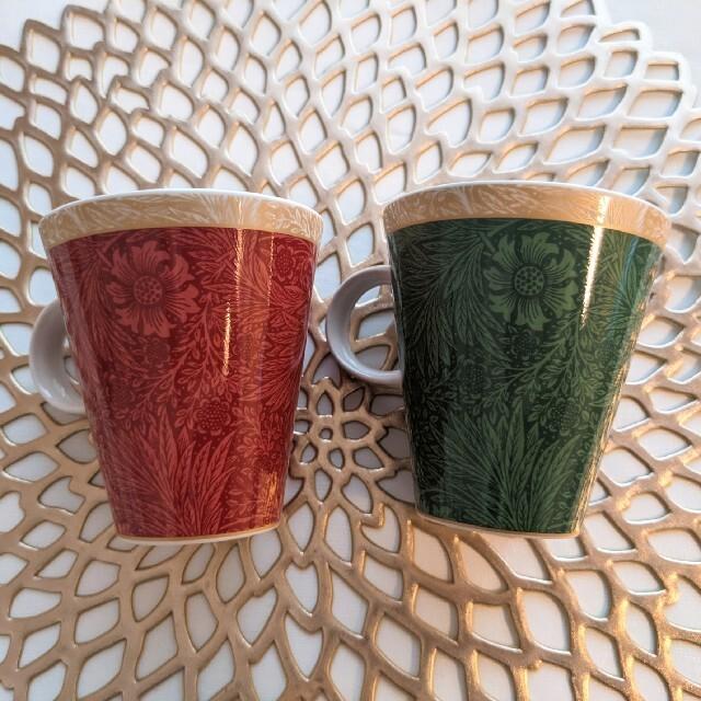 NIKKO(ニッコー)の《未使用》V&A ヴィクトリア&アルバート マグカップ 2個 インテリア/住まい/日用品のキッチン/食器(グラス/カップ)の商品写真