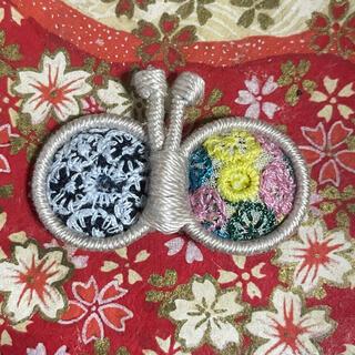 ミナペルホネン(mina perhonen)の【9月発売分】ミナペルホネン ちょうちょのブローチ40(コサージュ/ブローチ)