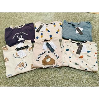フタフタ(futafuta)のmanina 新品6着まとめ売り 120〜130センチ(Tシャツ/カットソー)