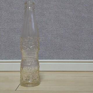コカコーラ(コカ・コーラ)の大日本ジュース コカコーラ瓶 ラムネ瓶 昭和レトロ(ガラス)