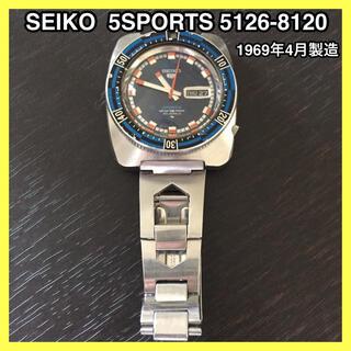 SEIKO - SEIKO 5SPORTS 5126 - 8120 自動巻 腕時計