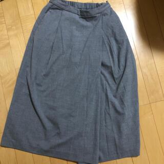 ユニクロ(UNIQLO)のスカート見えガウチョパンツ UNIQLO(キュロット)