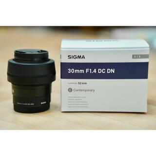 SIGMA - 《美品》SIGMA (シグマ) C 30mm F1.4 DC DN(ソニーE用)