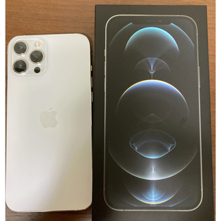 Apple - iPhone12 Pro max 128GB シルバー 保証2022年6月まで