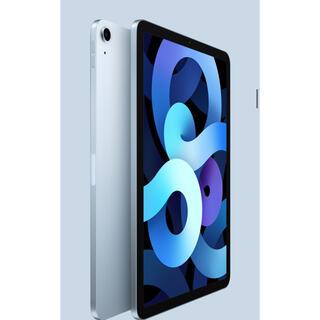 iPad - iPad Air4 64GB Wi-Fiモデル スカイブルー ケース・カバー付