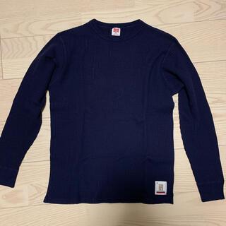 スタンダードカリフォルニア(STANDARD CALIFORNIA)のスタンダードカリフォルニア 2020 ヘビーワッフルロンT ネイビー M 新品(Tシャツ/カットソー(七分/長袖))
